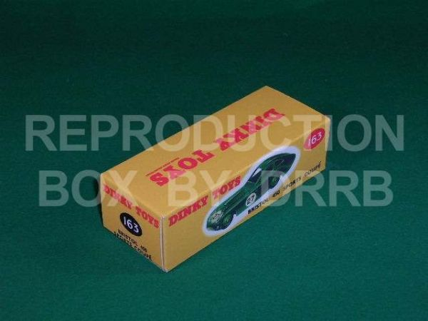 Dinky #163 Bristol 450 Sports Coupe - Reproduction Box